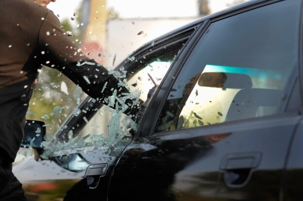 American Eagle Auto Glass what do you do when someone breaks your car window